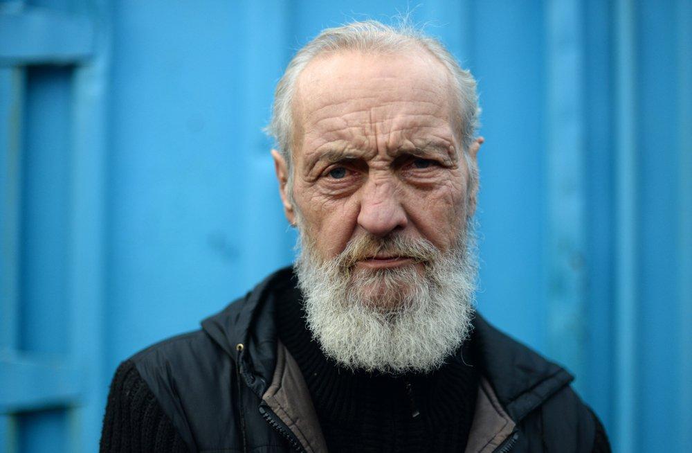 Восемь петербургских бездомных до и после стрижки у всемирно известного парикмахера из Мельбурна