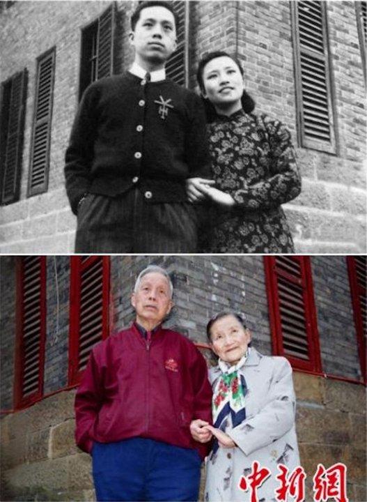 Свадебные фото спустя 70 лет
