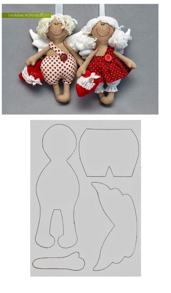 Игрушки своими руками тильды из ткани