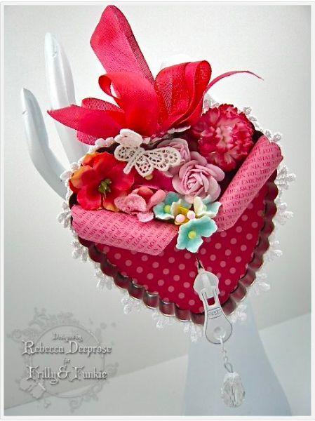 Пара идей для открыток-валентинок.