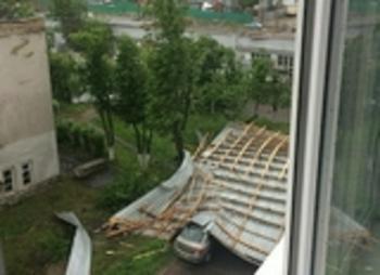 Собянин доложил об ущербе от урагана в Москве и сроках его ликвидации