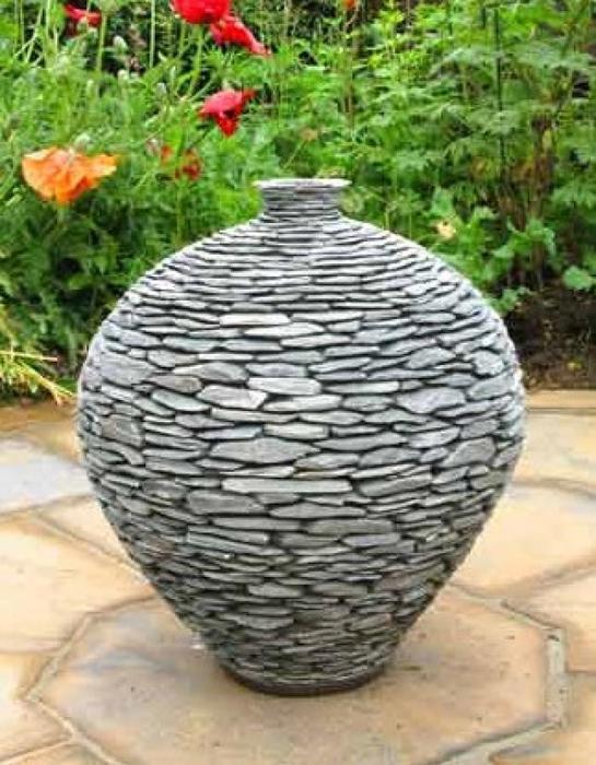 Поделки из камня для дачи своими руками