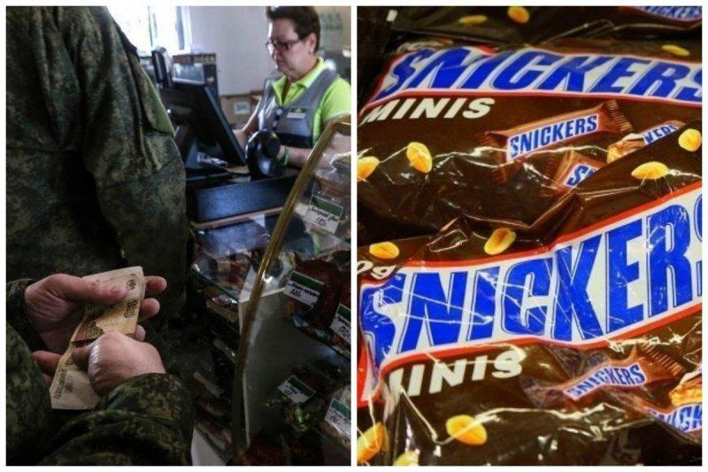 """Российских солдат оставят без """"Сникерсов"""" и """"Кока-Колы"""""""