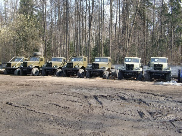Машины с военного хранения, пробег составляет до 2000 км