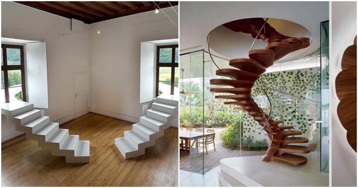 25 лестниц, которые поразят вас своим дизайном