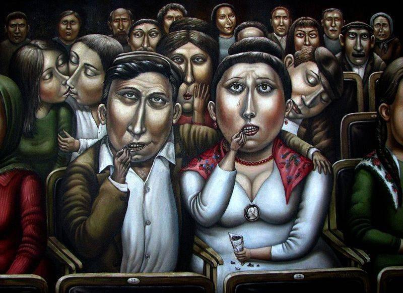 AngelaJerich16 Путешествие в СССР: картины художницы Анжелы Джерих