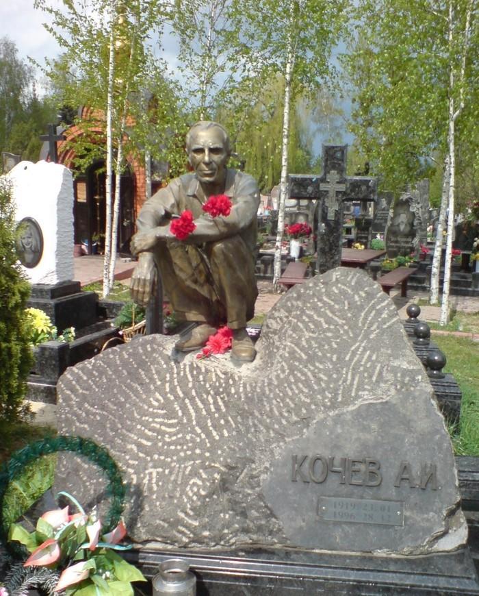 Надгробия русского криминала  (да уж...)