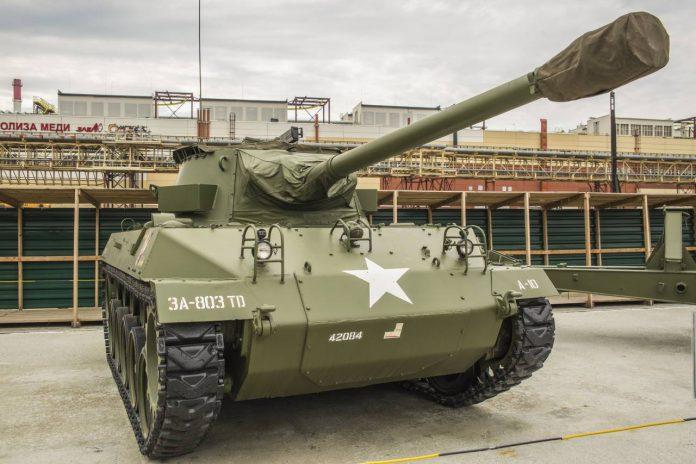 Рассказы о вооружении: американская САУ М18 Hellcat