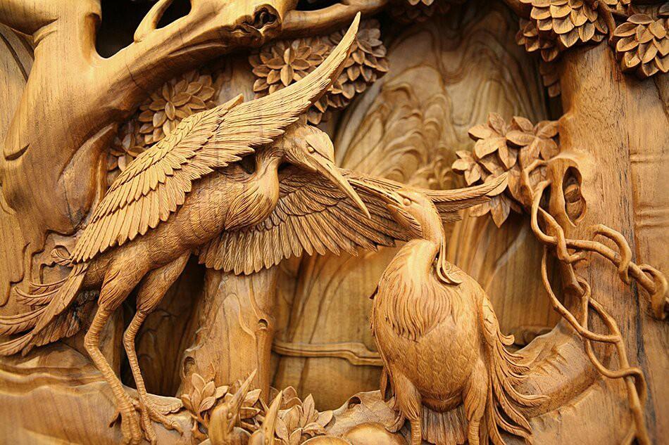 Dongyang — китайская резьба по дереву Dongyang, дерево, резьба