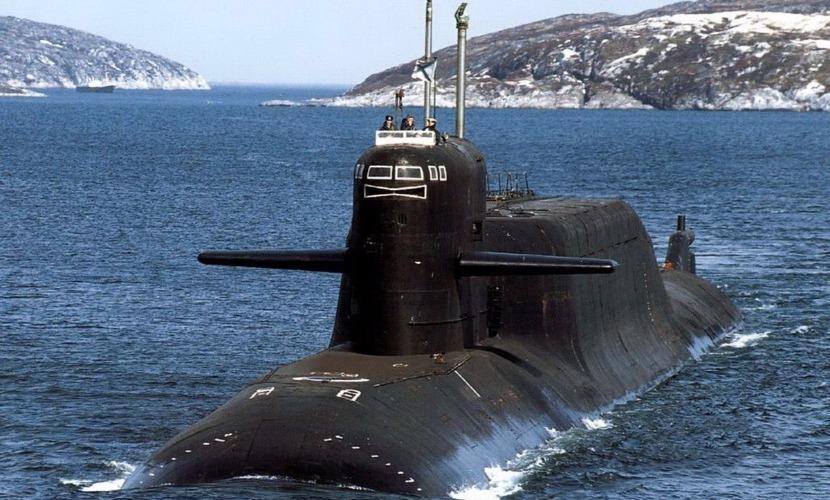 Российская атомная подлодка впервые со времен холодной войны зашла в Бискайский залив