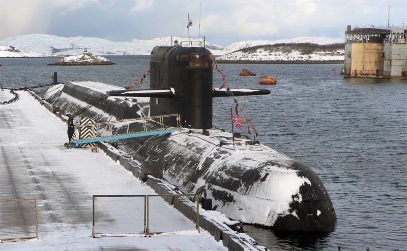атомной подводной лодки в нейтральных водах
