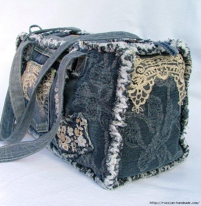 Модные сумки из старых джинсов (27) (682x700, 332Kb)