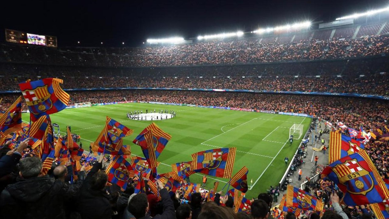 Стадион Камп Ноу - гордость Испании.