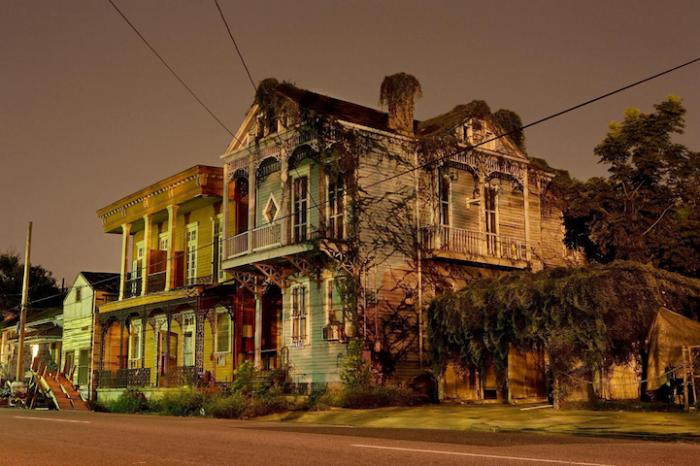 Архитектурные истории Нового Орлеана