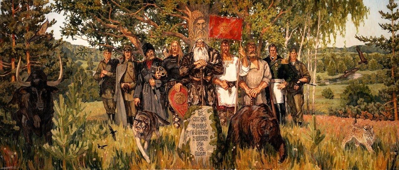 Полуйчик Игорь Мириады душ русских воинов освобождены из навьего заточения Original