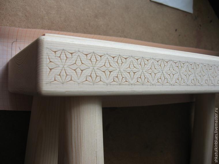 Изготовление деревянной лавочки без гвоздей и клея