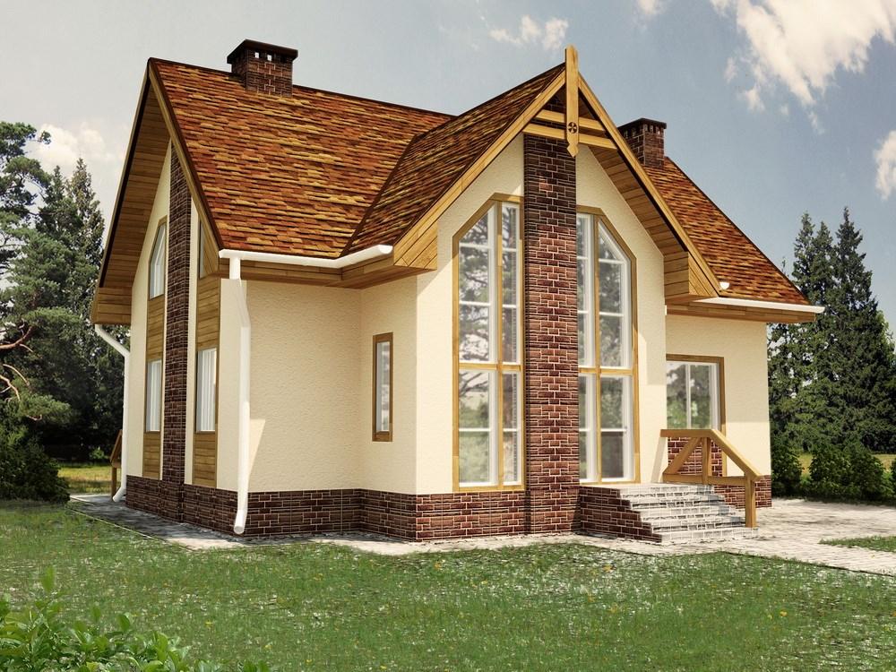 Дизайн обшивки дома