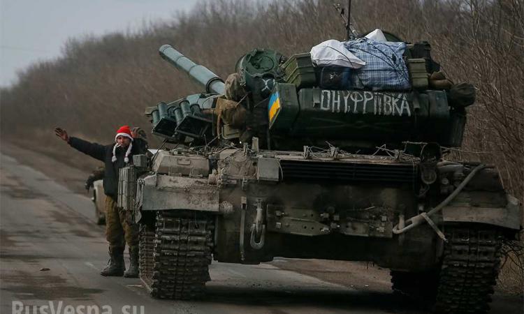 Донецк, Луганск, Дебальцево, Чернухино - последние новости ополчения Донбасса, Новороссия сегодня