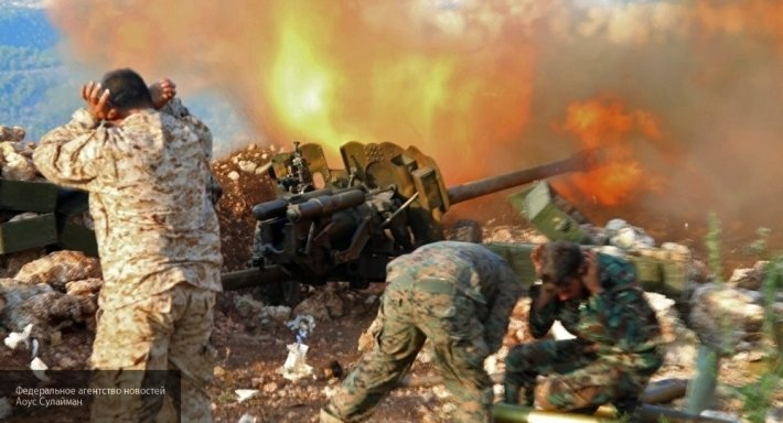 AMN: на северо-западе Алеппо разгорелась жаркая битва