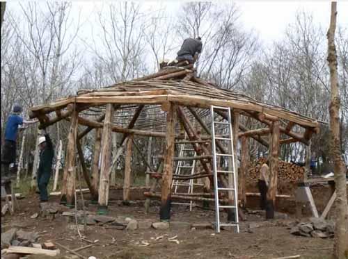 Построить дом своими руками материал