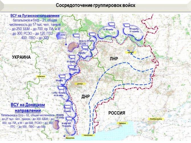 Генштаб ВСУ подтвердил информацию о подготовке к захвату ЛДНР