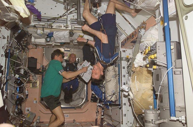 Иллюзии на МКС: как невесомость влияет на ощущения космонавтов
