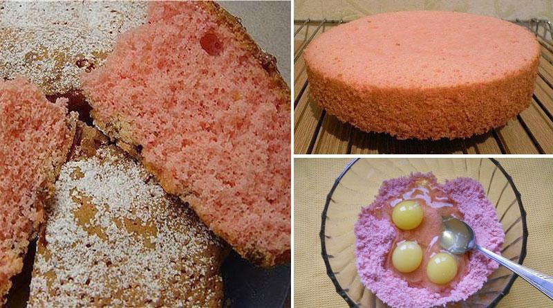 Нереально вкусный и рассыпчатый пирог из киселя.