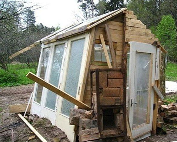 Загородный домик своими руками фото