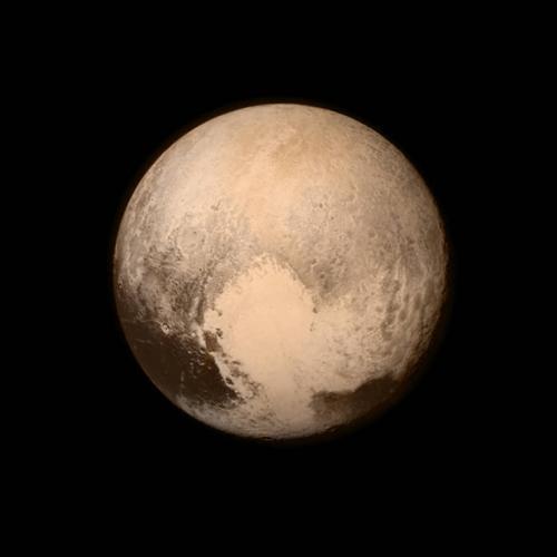 """Плато """"Спутник"""" находится в самом центре области, названной """"Сердце"""" - в силу своего сходства с ним"""
