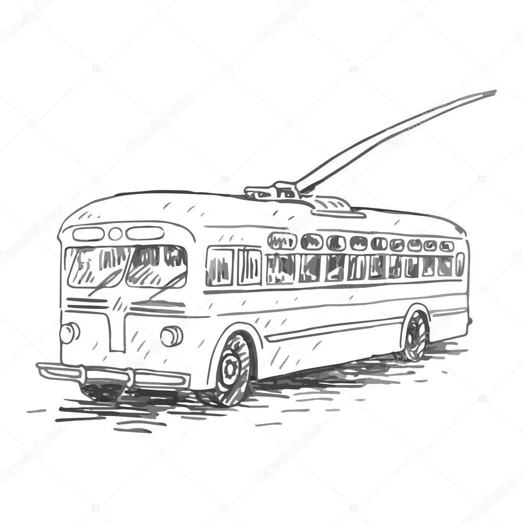 Не грози водителю троллейбуса!