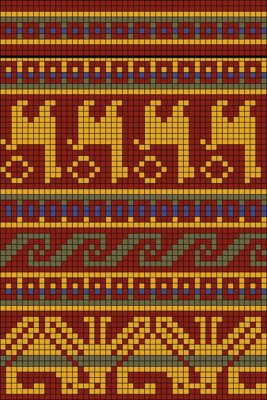 Мексиканские мотивы для вязания