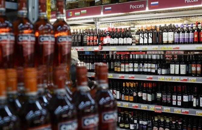 В России на 40% снизилось потребление алкоголя