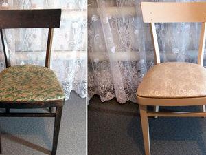 Обновляем старый стул