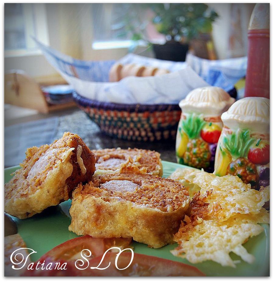 Колбаска в гречке. Фото-рецепт.