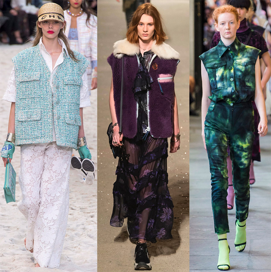 Женские жилеты от модных брендов – фото образов
