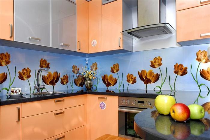 Стеновая панель кухни своими руками