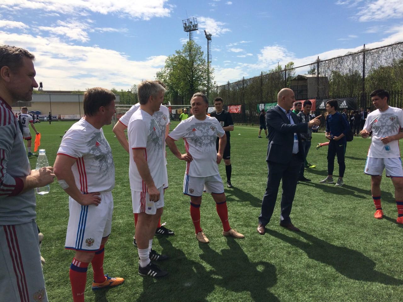 Фестиваль футбола в царстве спорта. В «Лужниках» прошел «День массового футбола»