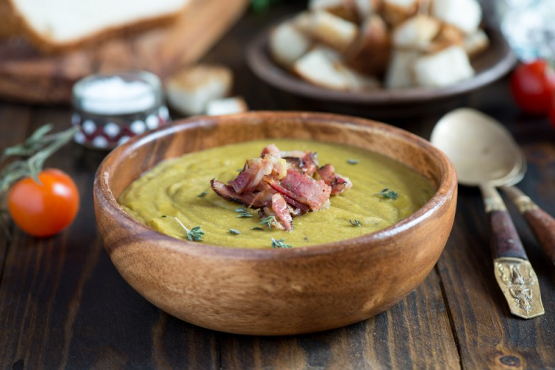 Суп гороховый: лучшие рецепты с фото