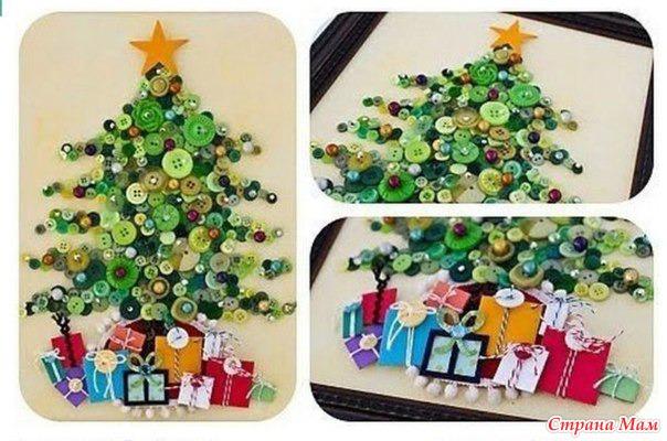 Оригинальные поделки в детский сад к новому году