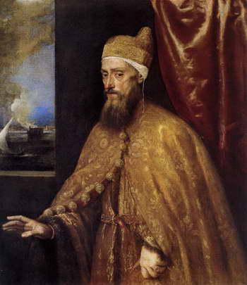 Тициан. Портрет венецианского дожа Франческо Венье