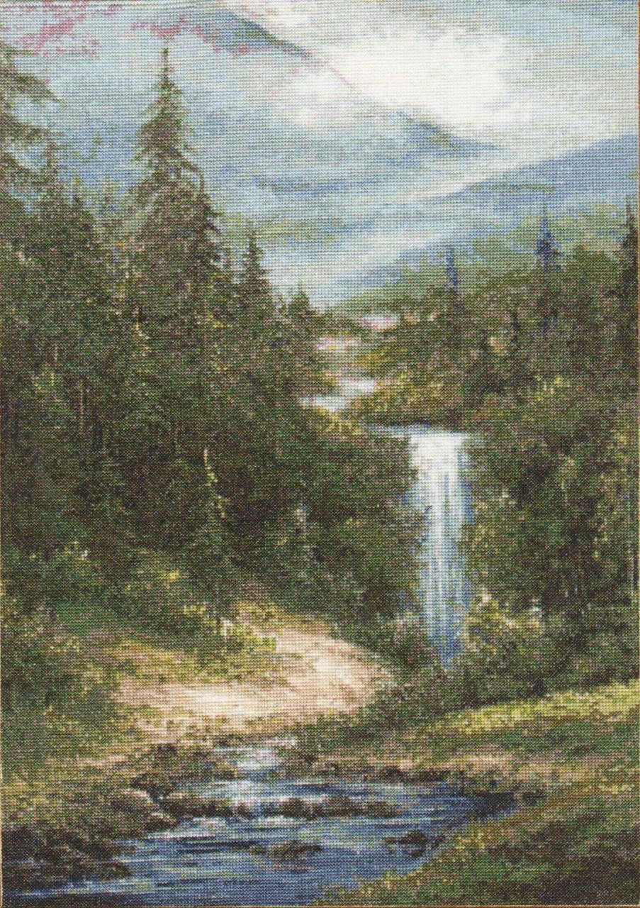 Вышивка крестом водопады только схемы