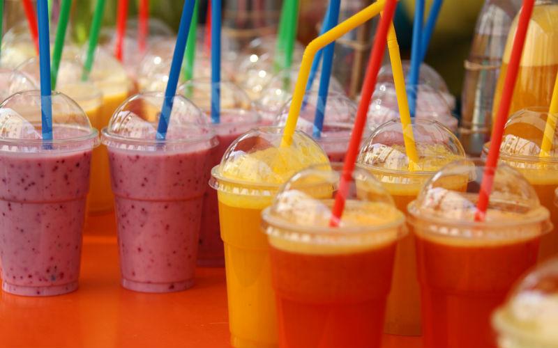 Цветные напитки для оптимального веса