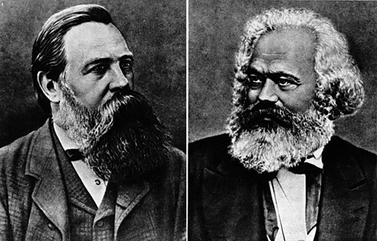 karl marx and frederick engels essay This essay first appeared in the international encyclopedia of economic sociology theses on feuerbach , in karl marx and frederick engels.