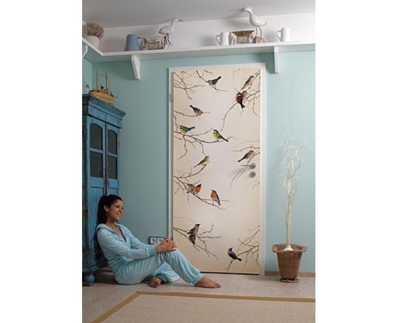 Декор дверей межкомнатных своими руками фото