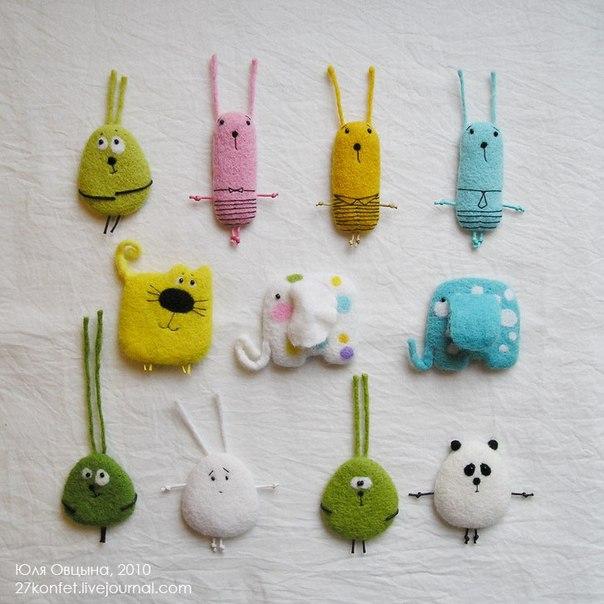 Шитые игрушки своими руками фото
