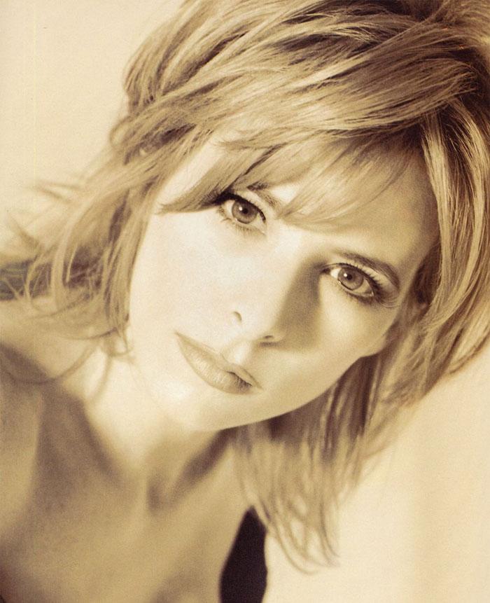 Милен Фармер (Mylene Farmer) в фотосессии Херба Ритца (Herb Ritts) для сингла L'Instant X (1995), фото 4