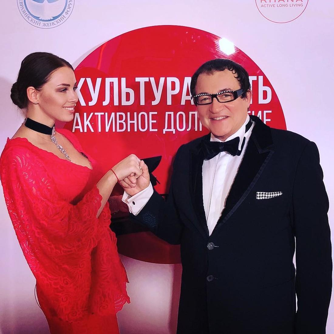 Молодую жену Дмитрия Диброва…