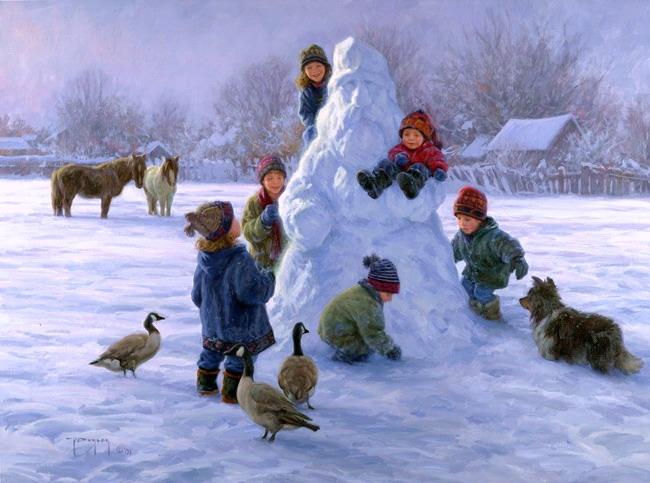 50 дел, которые обязательно надо сделать зимой!