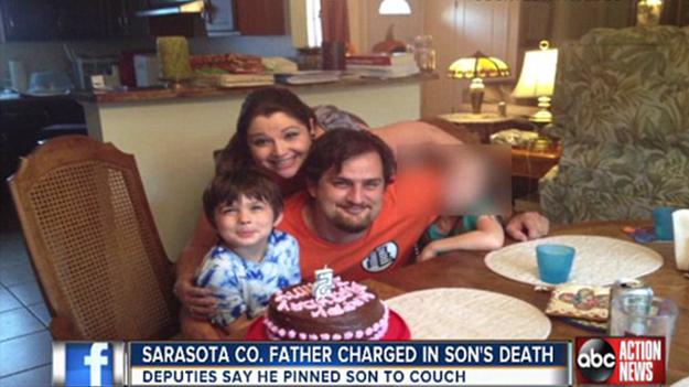 Отец задушил своего 6-летнего сына пока играл в видеоигры
