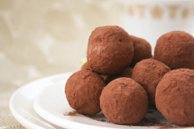 Вегетарианские шоколадные трюфели